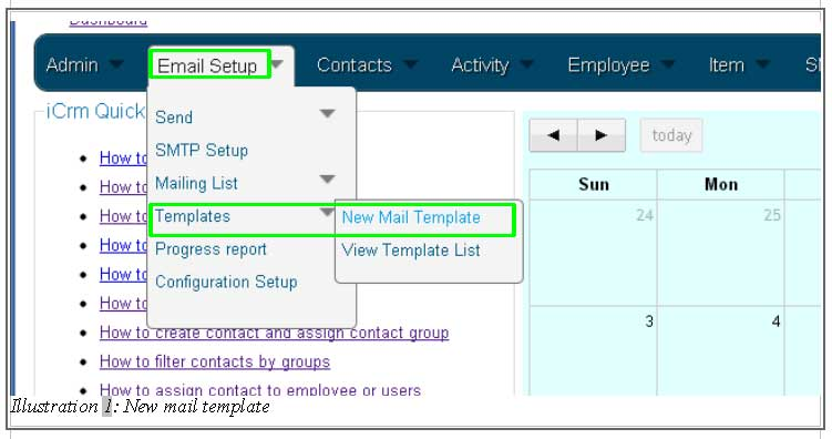 Customer Relationship Management Template Aprilonthemarchco - Email template management system