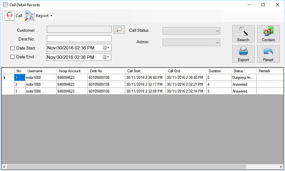 CRM Offline Feature