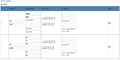 crm personal information